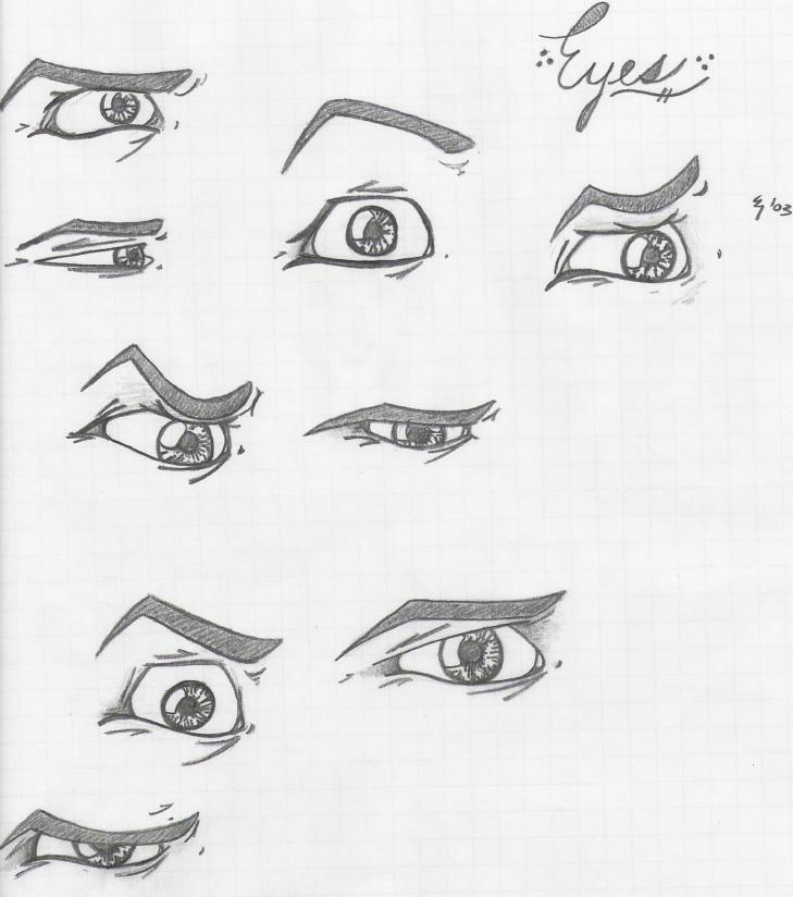 Cartoon Eyes By Zero77