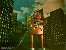 Neutron Robot by aCherryBlossomGirl