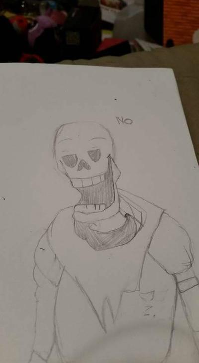 papyrus wants no puns by VampireDeidara
