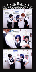 Tokyo Ghoul: Cafe Moments by shien7aries