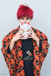 KuroBasu: Red and Yellow by shien7aries