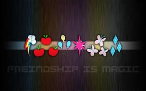 Mane 6 Wallpaper by eklipse13