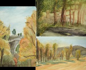 Montana Watercolor Experiments