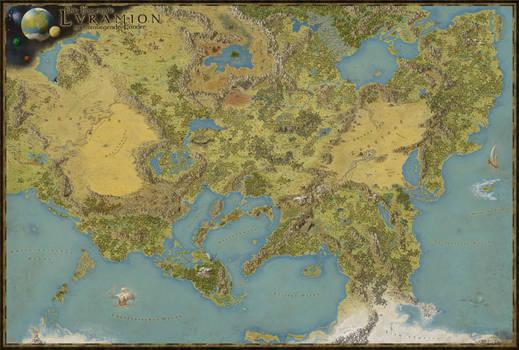 Das Emperyale Lvramion und umliegende Lander
