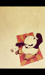 Teh Panduh OWNS Awesomeness by mutatedMILKFISH