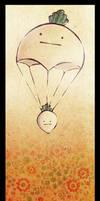 mr. raddish floats on...