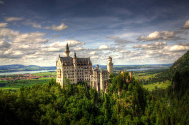 Schloss Neuschwanstein I by hans64-kjz