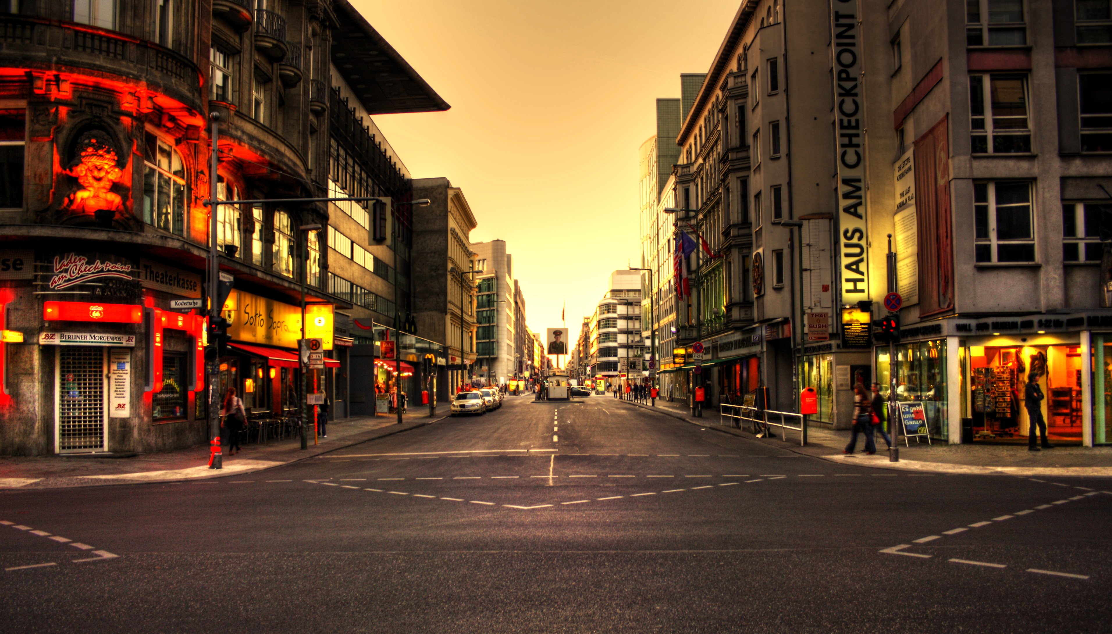 Germany Checkpoint Charlie Checkpoint Charlie By Hans Kjz Dkuy