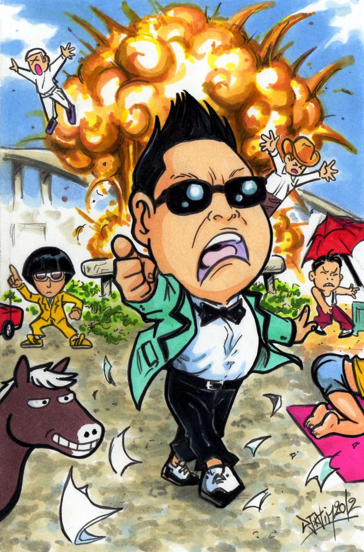 Psy gangnam style tribute by djiguito on deviantart - Dessin de psy ...