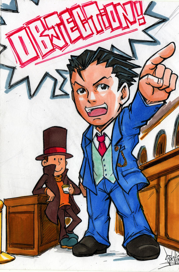 Ace Attorney Art Book