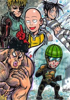 ONEPUNCHMAN  HEROES