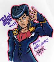 Jojo Part 4 by Djiguito