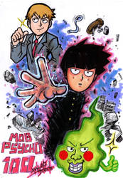 Mob Psycho 100 by Djiguito