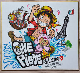ONE PIECE je t'aime by Djiguito