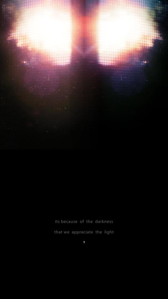 because of the darkness_V1 by AeternitasveniA