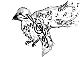 Musical Bird by Midori28Sakura