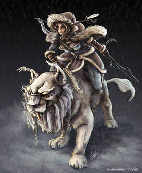 The Northern Rider Awilix - Skin concept