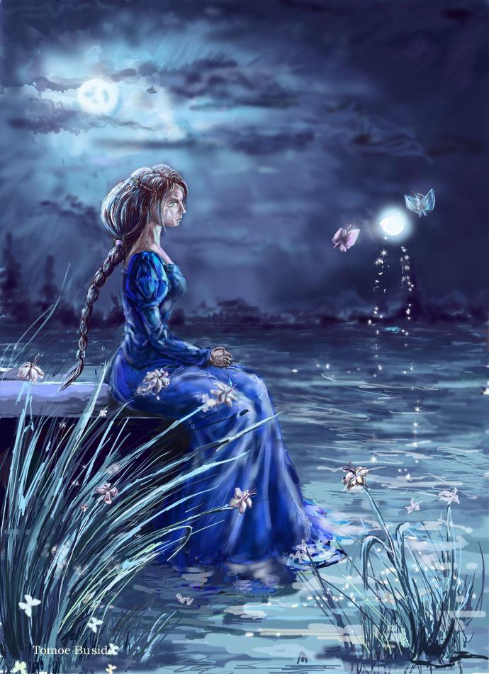 MOON NIGHT - Página 39 Woman_moon_water_and_magic_by_DartTomoedono