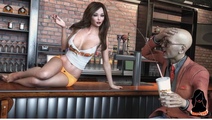 Hooters Contest Spartiates 2019