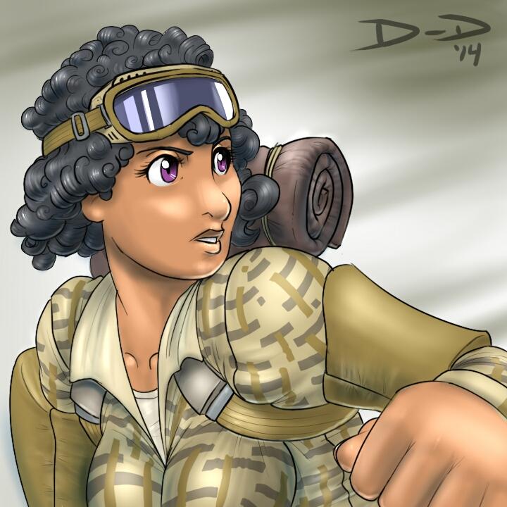 Desert Soldier by Danny-Haymond-Jr