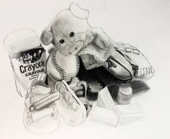 Childhood Fadeaway by wendythewilf