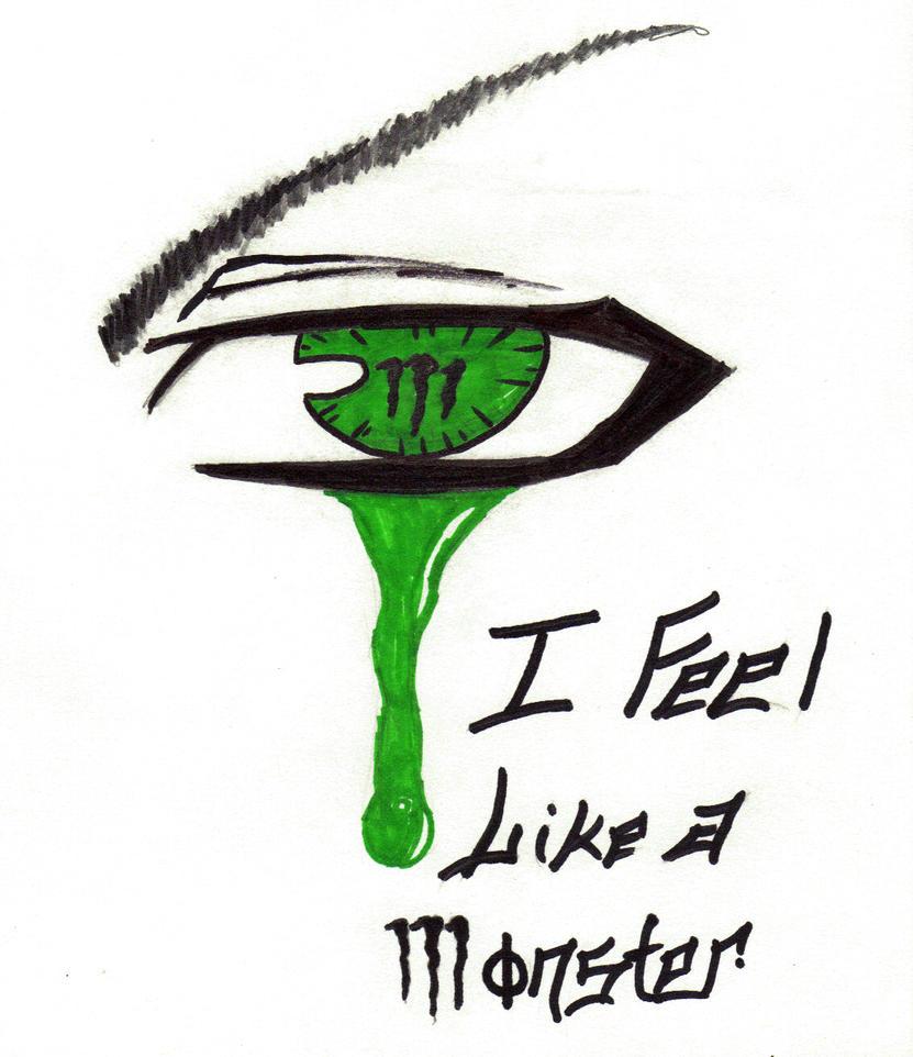 I Feel Like a Monster by ForgottenParadise on DeviantArt