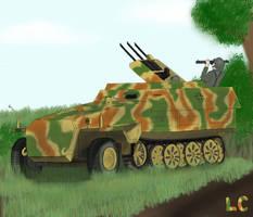 Sd.Kfz 251/21 Ausf. C by ZEECAPTEIN