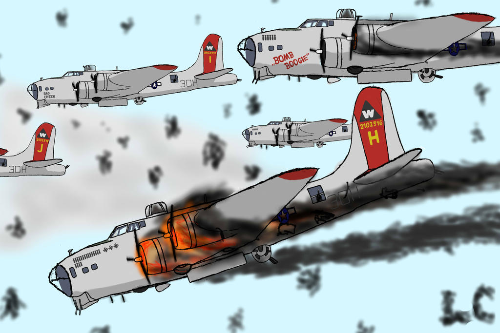 B17 Bomber Drawing B17 bombers  B17 Bomber Drawing