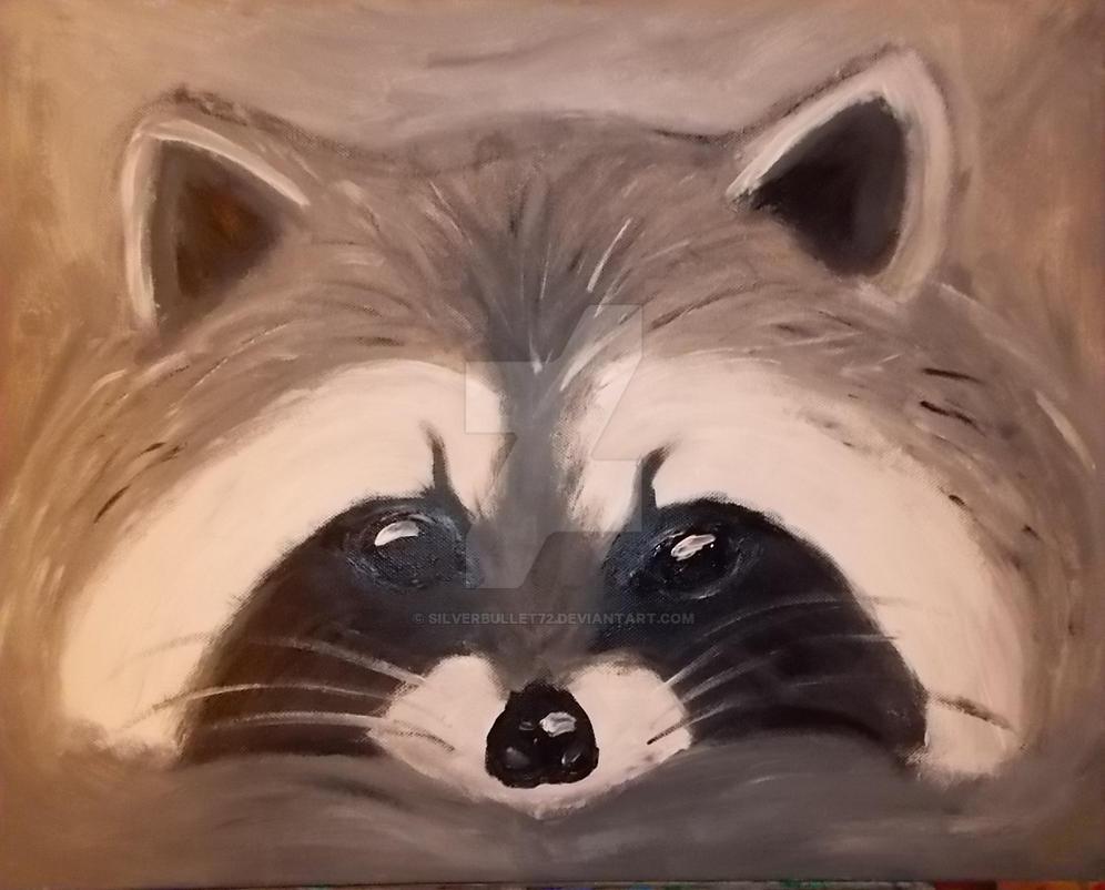 Raccoon by silverbullet72