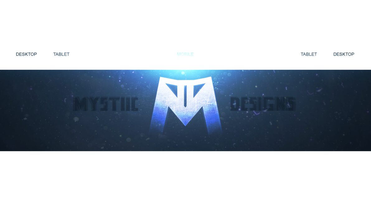 My First (Personal) YouTube Background/Banner by ByMystiic on DeviantArt