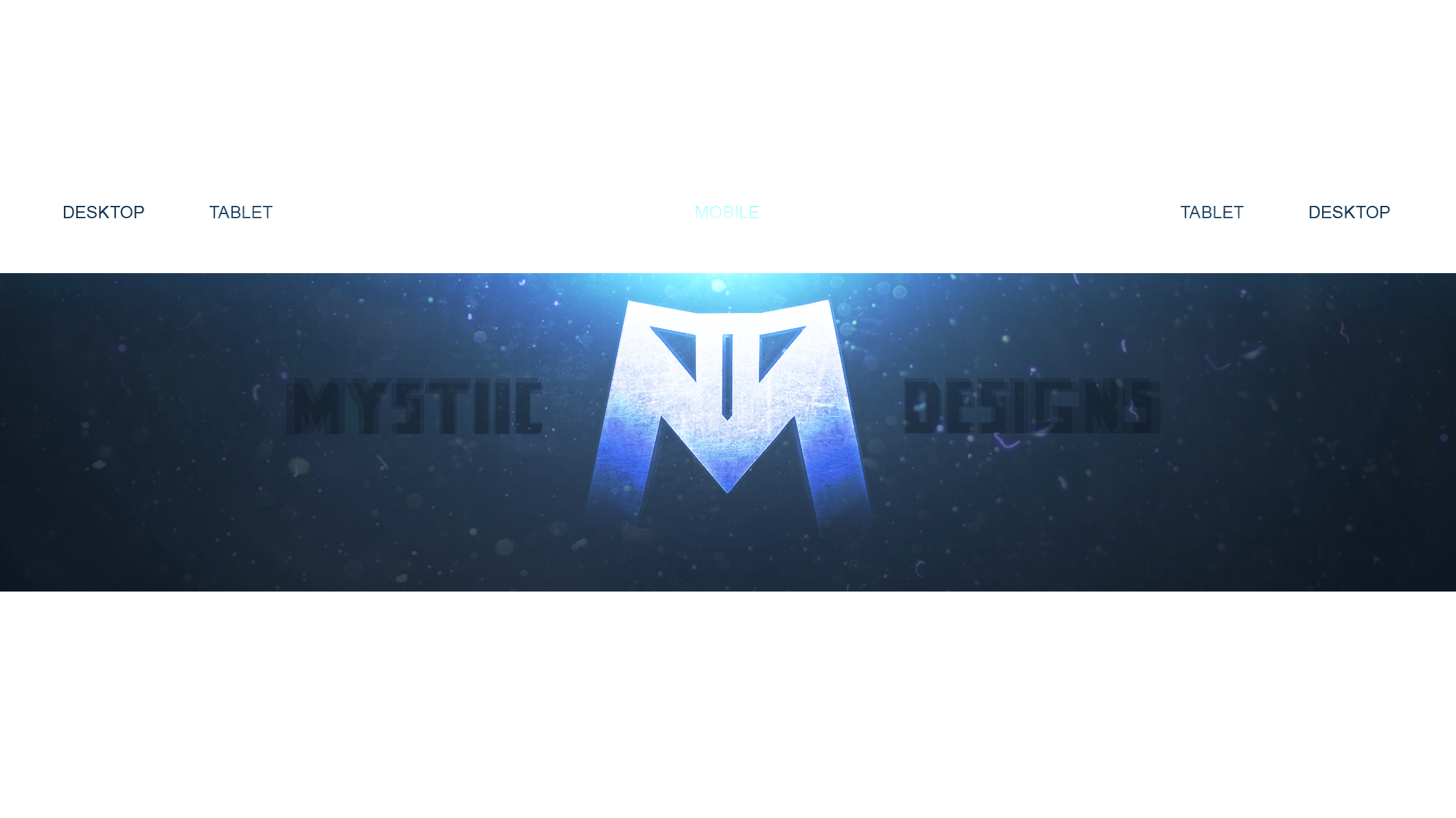 YouTube Banner Template (PSD File) by ByMystiic on DeviantArt