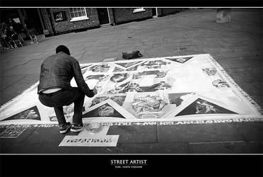 Street Artist by Centurionuk
