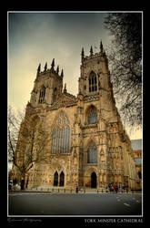 York Minster Cathedral by Centurionuk