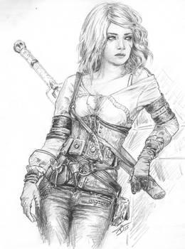 Ladee Danger : Ciri cosplay