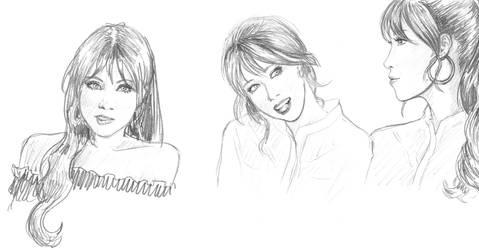 Model Lee Eun Hye