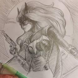 Inktober2019 Day 01 : Batwoman