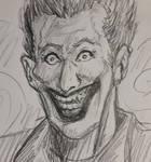 Inktober2019 day 4 : The Joker