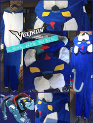 VOLTRON Blue Lion Onesie by Dacdacgirl