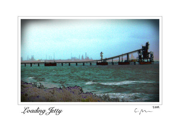 Loading Jetty 5x7 card signed