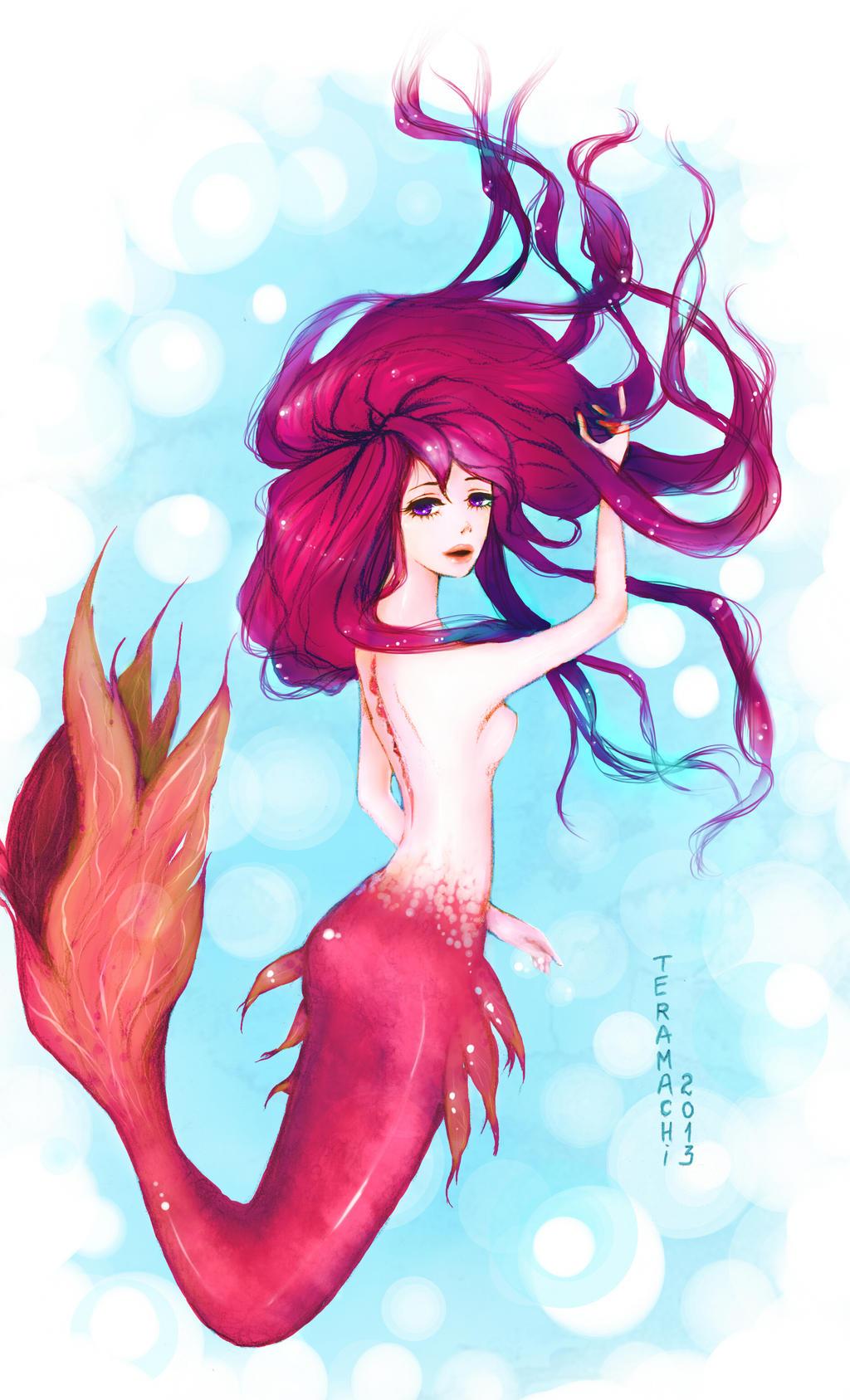 mermaid by RiraR