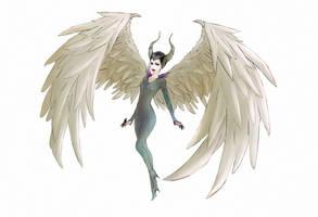 Maleficent by RiraR