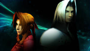 Aeris and Sephiroth: Protector and Destroyer