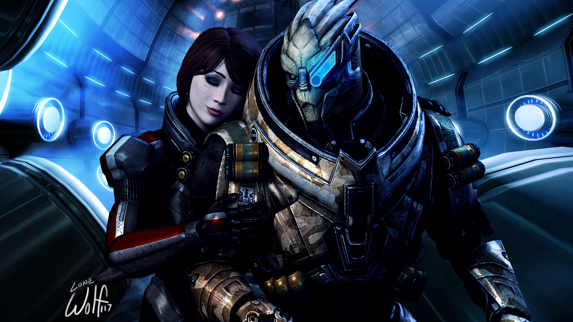 FemShepxGarrus: Calibrations by LoneWolf117