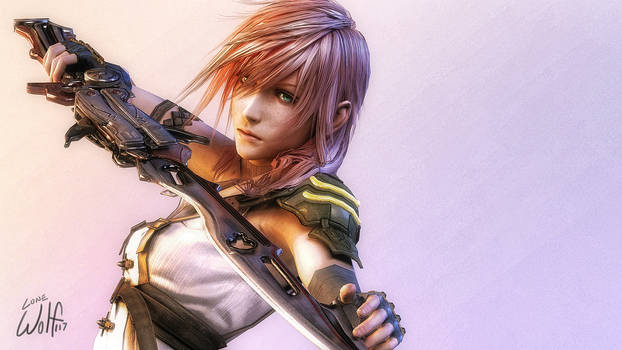 Lightning Farron: Goddess on the Battlefield