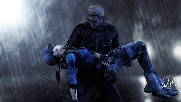 Wesker and Jill: Carried Away