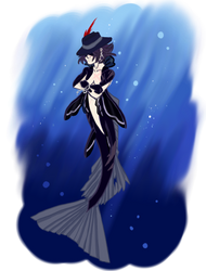 Atlantica Form Blaine/Brain by Sonic-Spatula