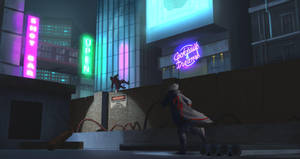 Cyberpunk City : escape