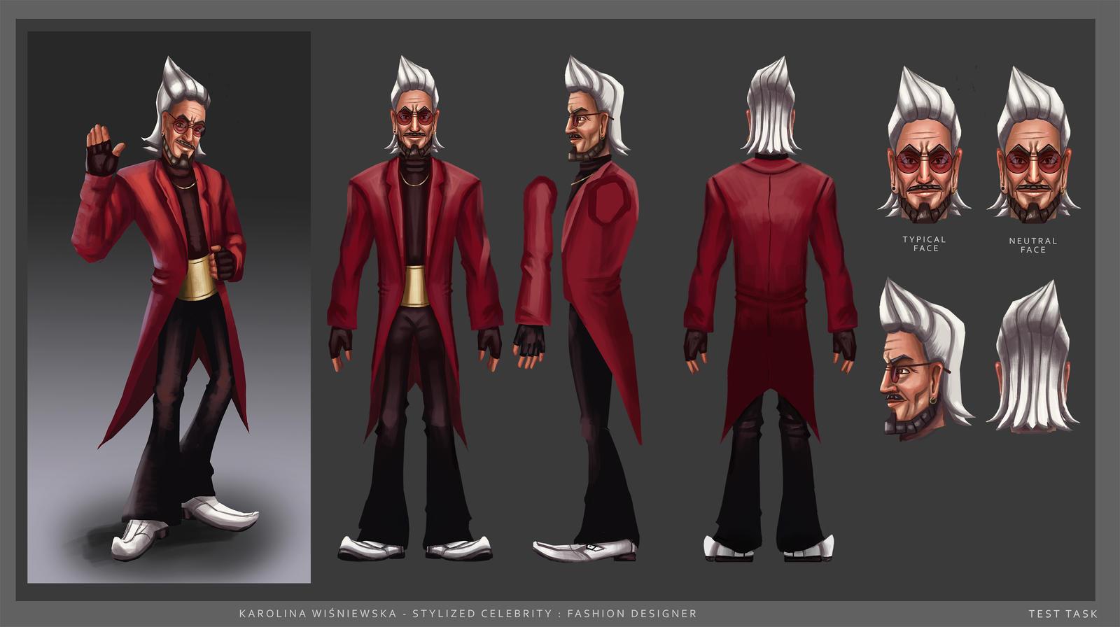 Fashion Designer Character Concept By Karolawisnia On Deviantart