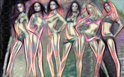 Girls Girls Girls by jlluesma