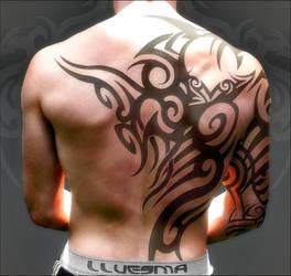 Back Tattoo by jlluesma